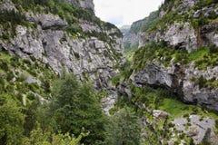 Anisclo jar w Ordesa parku narodowym, Hiszpania zdjęcia stock