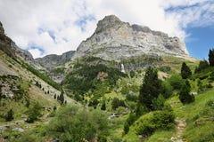 Anisclo jar w Ordesa parku narodowym, Hiszpania obraz royalty free