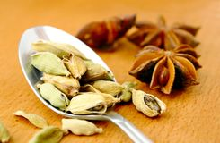 Anise and cardamom Stock Photo
