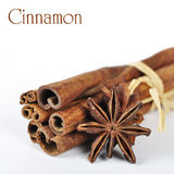 Anise and cinnamon Royalty Free Stock Photography