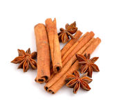 Anise and cinnamon Royalty Free Stock Image