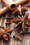 Anise and cloves Stock Photo