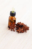 Anise essential oil Royalty Free Stock Images