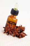 Anise essential oil Stock Photography
