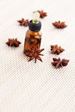 Anise essential oil Royalty Free Stock Photo