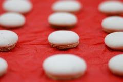 Anise Macarons Fotografía de archivo