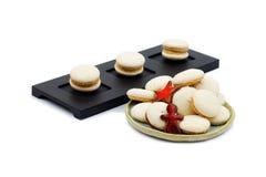 Anise Macarons royalty-vrije stock afbeelding