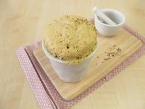 Anise mug cake Stock Images