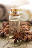 Anise oil Royalty Free Stock Photos
