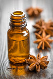 Anise oil Royalty Free Stock Image