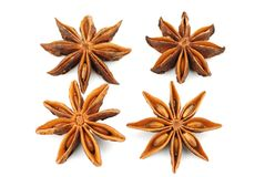 Anise (star anise) Royalty Free Stock Photo