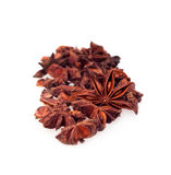 Anise star isolated on white Stock Photos