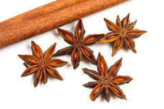 Anise stars Royalty Free Stock Photography