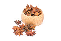 Anise stars Royalty Free Stock Images