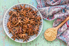 Anise Stock Photography