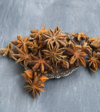 Anise Stars Spice Royalty Free Stock Photos