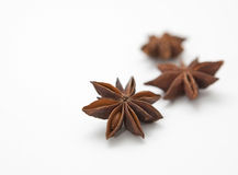 Anise on a white background. Stock Photography