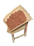 Aniseed, Dustpan and Stool Royalty Free Stock Photo