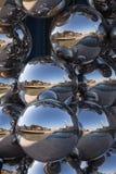 Anish Kapoor rzeźba, Guggenheim, Bilbao Zdjęcia Royalty Free