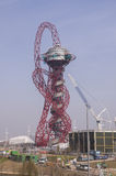 Anish Kapoor's Olympic sculpture Royalty Free Stock Photos