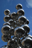 Anish Kapoor steel balls Tall Tree and The Eye Stock Photos