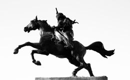 Anita Garibaldi monument Arkivbilder