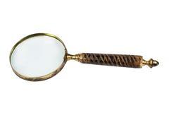 anitique πιό magnifier παλαιός γυαλιού Στοκ φωτογραφία με δικαίωμα ελεύθερης χρήσης