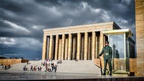 Anitkabir,阿塔图尔克陵墓 免版税图库摄影