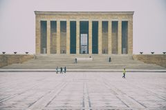 Anitkabir - μαυσωλείο Ataturk, Άγκυρα Τουρκία Στοκ εικόνες με δικαίωμα ελεύθερης χρήσης