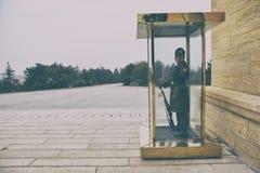 Anitkabir - μαυσωλείο Ataturk, Άγκυρα Τουρκία Στοκ Φωτογραφία