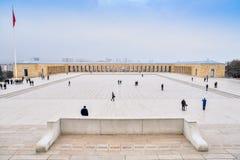 Anitkabir - μαυσωλείο Ataturk, Άγκυρα Τουρκία Στοκ φωτογραφία με δικαίωμα ελεύθερης χρήσης