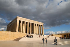 Anitkabir: Ataturk's Mausoleum Royalty Free Stock Images