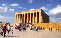 Anitkabir, mausoleo di Mustafa Kemal Ataturks Immagine Stock
