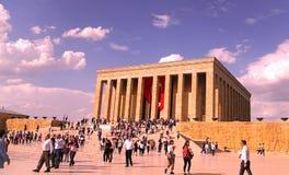 Anitkabir, mausoleo di Mustafa Kemal Ataturks Fotografie Stock
