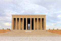 Anitkabir mausoleum of Ataturk, Ankara, Turkey Royalty Free Stock Photos