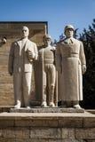 Anitkabir mausoleum av Mustafa Kemal Ataturk, grundaren av th Royaltyfri Fotografi