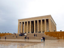 Anitkabir, the mausoleum of Mustafa Kemal Ataturk Royalty Free Stock Image