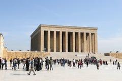 Anitkabir mausoleum of Mustafa Kemal Ataturk Royalty Free Stock Images