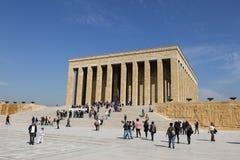 Anitkabir mausoleum of Mustafa Kemal Ataturk Stock Image