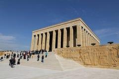 Anitkabir mausoleum of Mustafa Kemal Ataturk Stock Images
