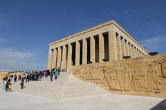 Anitkabir mausoleum of Mustafa Kemal Ataturk Stock Photos