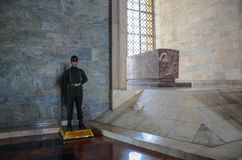 Anitkabir, Mausoleum van Mustafa Kemal Atatà ¼ rk royalty-vrije stock foto