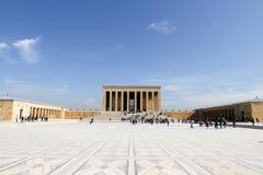 Anitkabir-Mausoleum von Mustafa Kemal Ataturk Lizenzfreie Stockbilder