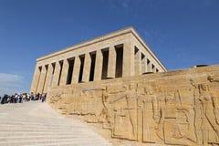 Anitkabir-Mausoleum von Mustafa Kemal Ataturk Stockfoto
