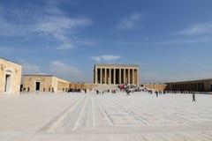 Anitkabir-Mausoleum von Mustafa Kemal Ataturk Stockfotografie