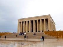 Anitkabir, o mausoléu de Mustafa Kemal Ataturk imagem de stock royalty free