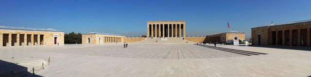 Anitkabir panoramic view Royalty Free Stock Images