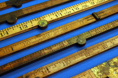 Anitque Rulers Stock Photos