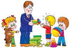 Aniversário ilustração royalty free
