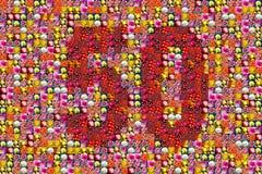 aniversário 50 Imagens de Stock